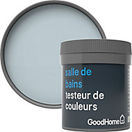 Testeur peinture salle de bains GoodHome bleu Toulon satin 50ml
