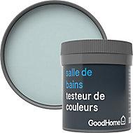 Testeur peinture salle de bains GoodHome vert Clontarf satin 50ml