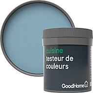Testeur peinture cuisine GoodHome bleu Monaco mat 50ml