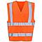 Gilet haute visibilité orange taille L/XL