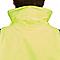 Veste de circulation imperméable haute visibilité jaune taille M