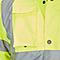 Veste de circulation imperméable haute visibilité jaune taille L