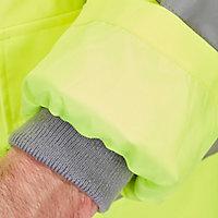 Veste de circulation imperméable haute visibilité jaune taille XL