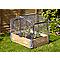 Bâche plastique pour serre filet retractable Verve Kitchen Garden 77 x 60 cm
