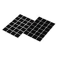 Bande adhésive format carré noir Diall 25 mm - 24 pièces