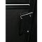 Porte seule Industrial noire 83 cm
