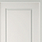 Bloc porte blanc 2 panneaux pleins 63 cm poussant droit