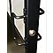 Bloc porte Atelier noir 83 cm poussant gauche