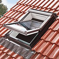 Raccord tuile grand galbe Site pour fenêtre de toit 78 x 98 cm