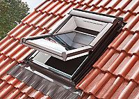 Raccord tuile grand galbe Site pour fenêtre de toit 114 x 118 cm