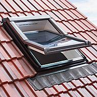 Raccord tuile petit galbe Site pour fenêtre de toit 78 x 118 cm