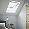 Fenêtre de toit Premium Site blanc 114 x h.118 cm
