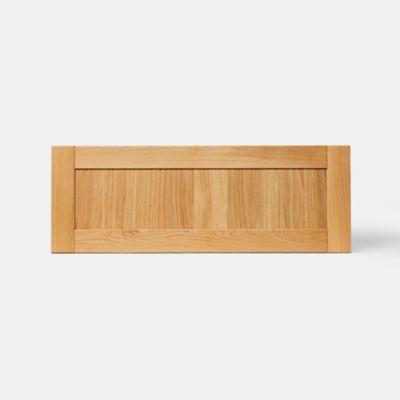 Façade de cuisine pour caisson hotte / casserolier GoodHome Verbena Naturel l. 99.7 cm x H. 35.6 cm