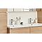 Mitigeur pour vasque à manette unique à montage haut GoodHome Piana