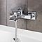 Mitigeur de baignoire carré à manette unique Hopa
