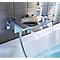 Mitigeur de baignoire à manette Abana à effet chute d'eau