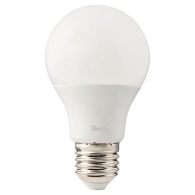 Ampoule LED Diall GLS E27 10 5W=75W blanc chaud