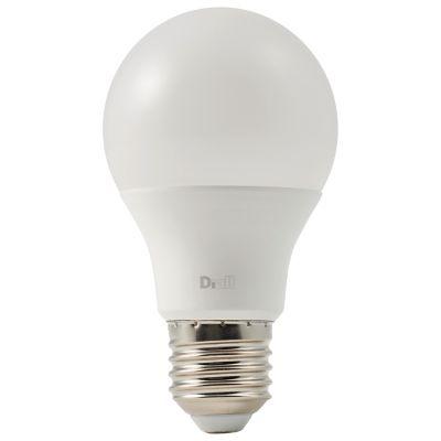 Ampoule LED Diall GLS E27 10 5W=75W blanc neutre