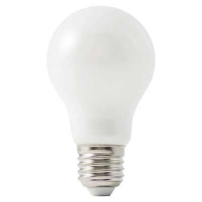 Ampoule LED Diall GLS E27 8 1W=60W blanc chaud