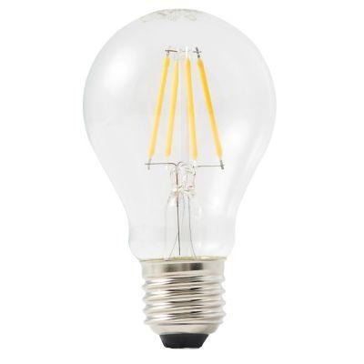 Ampoule LED Diall GLS E27 4 5W=40W blanc chaud