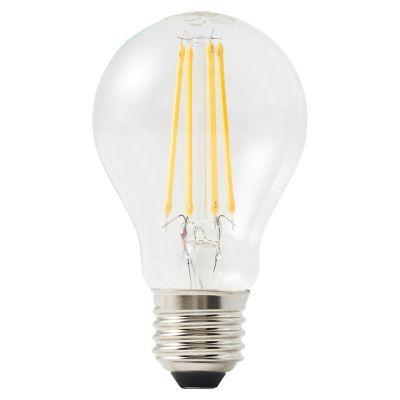 Ampoule LED Diall GLS E27 6 5W=60W blanc chaud