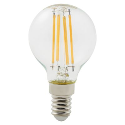 Ampoule LED Diall mini globe E14 4 9W=47W blanc chaud