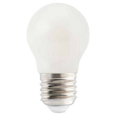 Ampoule LED Diall mini globe E27 4 9W=40W blanc neutre