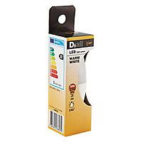 Ampoule LED Diall flamme E27 3W=25W blanc chaud