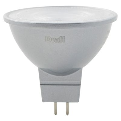 Ampoule LED Diall réflecteur GU5.3 4 7W=35W blanc chaud
