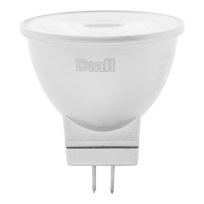Ampoule LED Diall réflecteur GU4 2 9W=20W blanc chaud