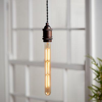 Ampoule à filament tube LED Diall T32 300mm 6W = 40W blanc chaud