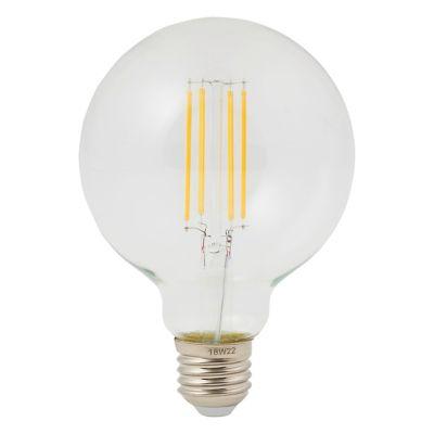 Ampoule LED décorative Diall globe E27 8W=75W blanc chaud