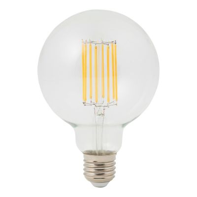 Ampoule à filament globe LED Diall Ø95mm E27 8W=75W blanc neutre