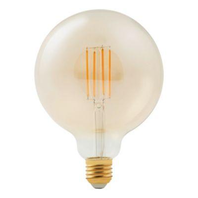 Ampoule LED à filament Diall globe Ø 120mm E27 9W=60W blanc chaud