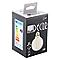 Ampoule décorative à filament globe LED Diall E27 Ø80mm 12W=100W blanc chaud