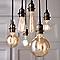 Ampoule décorative à filament globe LED Diall E27 Ø80mm 6W=40W blanc chaud