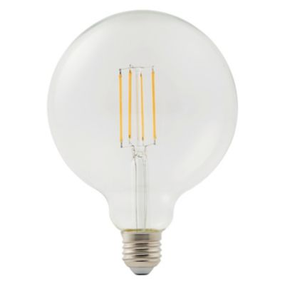 Ampoule LED décorative Diall globe Ø 120mm E27 7W=60W blanc chaud