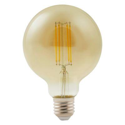Ampoule LED décorative Diall globe Ø 95mm E27 9W=60W blanc neutre