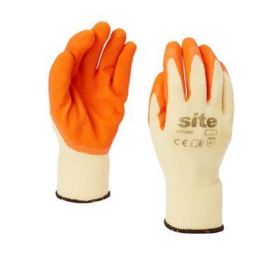 Gants à revêtement latex Site - Taille 10 (XL)