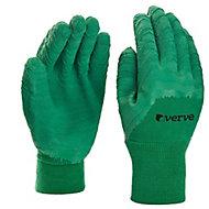 Gants de jardinage enduit latex vert Verve - Taille 8 (M)