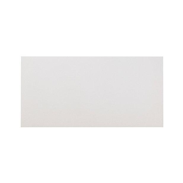 Carrelage sol blanc 30 x 60 cm Smooth (vendu au carton)