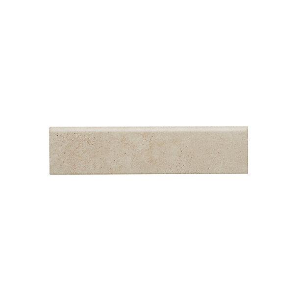 Plinthe Beige 7 5 X 30 Cm Burgundy Stone Castorama