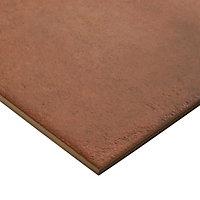 Carrelage sol terracotta 25 x 25 cm Fornace