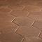 Carrelage sol terracotta 22 x 25 cm Fornace (vendu au carton)