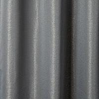 Rideau occultant GoodHome Thanja gris 140 x 260 cm