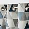 Rideau GoodHome Rima bleu 140 x 260 cm