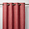 Rideau GoodHome Tiga rouge 140 x 260 cm