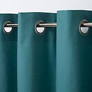 Rideau GoodHome Hiva vert bleu 140 x 260 cm