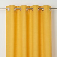 Rideau GoodHome Novan jaune 140 x 260 cm