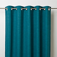 Rideau GoodHome Novan bleu 140 x 260 cm